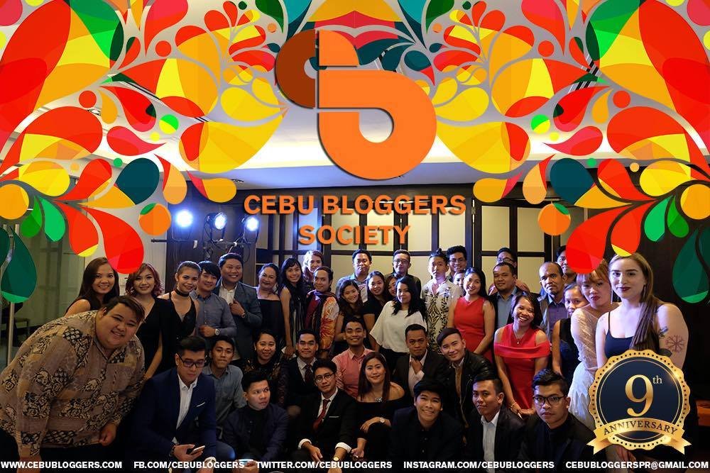 cebu blogger society 9th year anniversary
