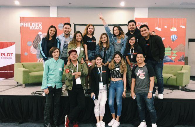 davao bloggers at travel and leisure expo davao 2017 (TLEX DVO)