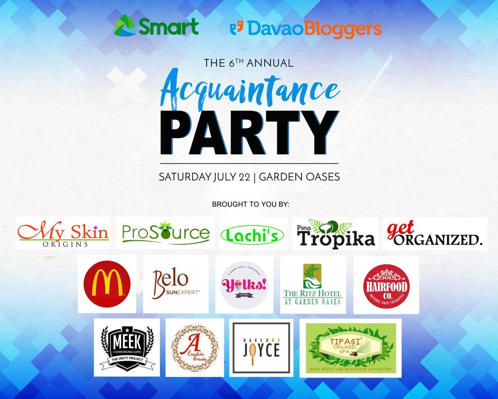 davao bloggers 6th annual acquaintance party