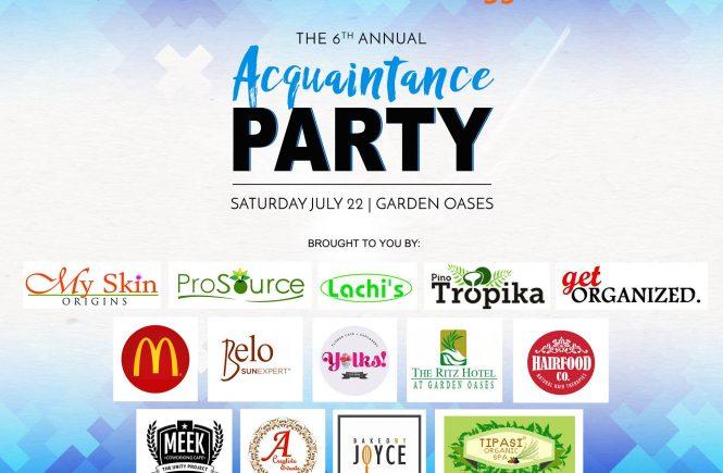 davao bloggers 6th annual acquaintance party
