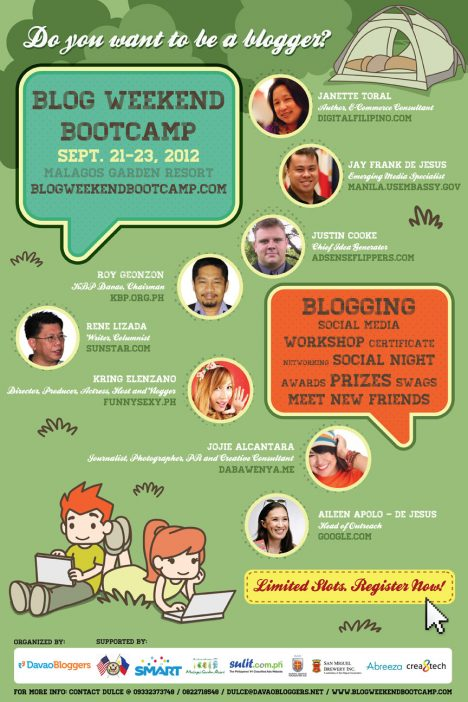 Blog Weekend Bootcamp