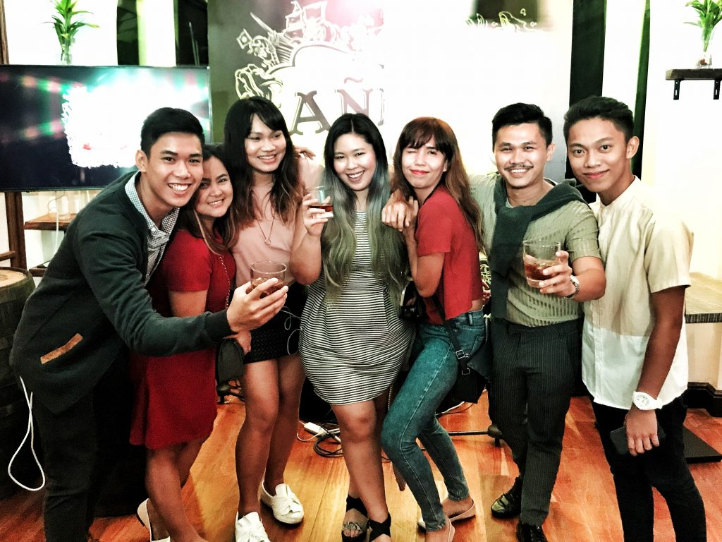 Davao Bloggers at the Launch of Anejo Gold Medium Rum