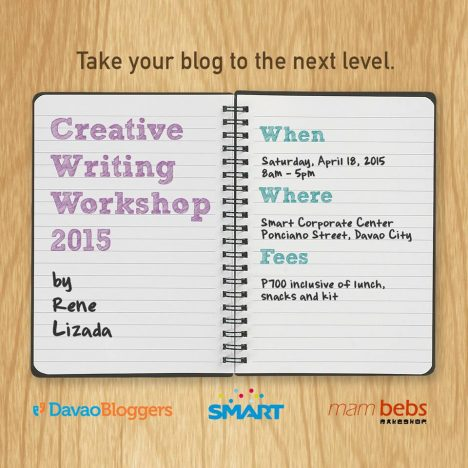 davao bloggers creative writing