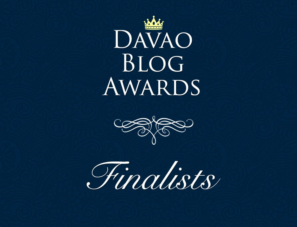 Davao Blog Awards 2017 Finalists