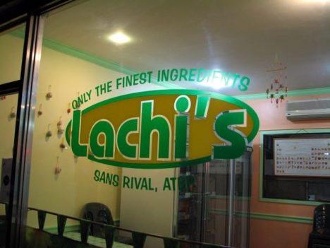 Lachi's Sans Rival Atbp