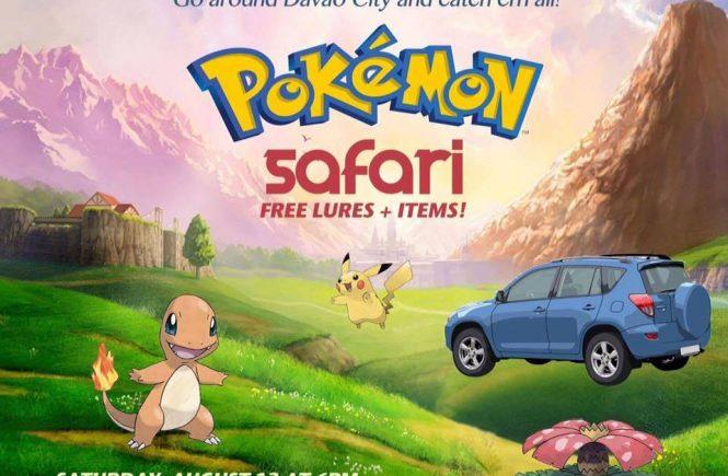 pokemon safari poster