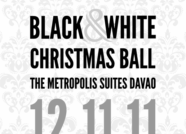 Davao Bloggers Black and White Christmas Ball 2011